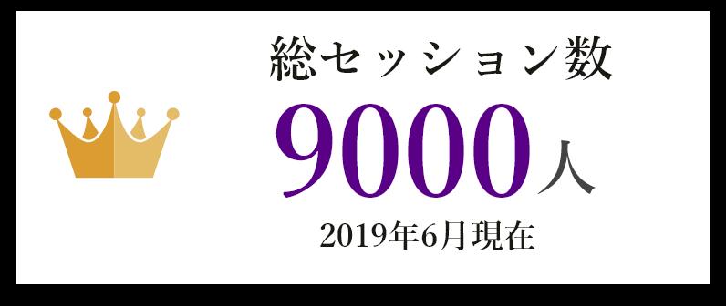 総セッション数 9000人以上